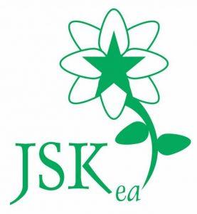 malnova emblemo/logoo de KEJO